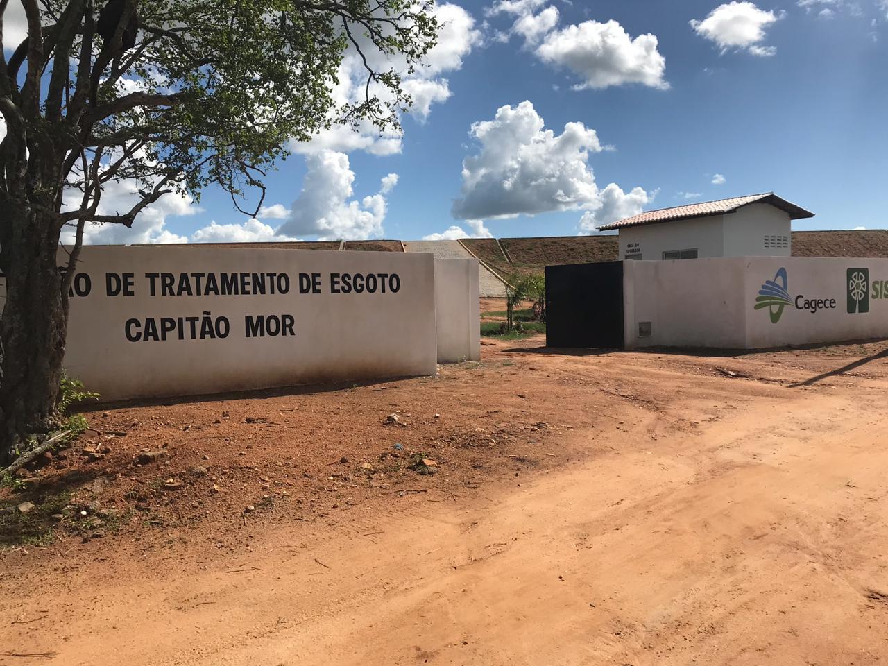 Estação de Tratamento Esgoto (ETE) de Capitão-Mor, Pedra Branca-CE (Sisar de Quixadá)