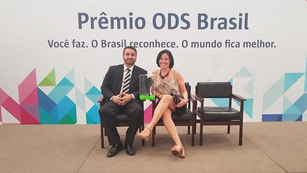 Sisar vence o Prêmio ODS Brasil