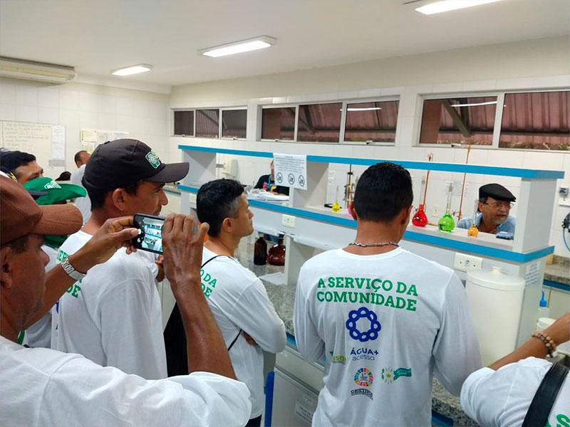 Associação Comunitária da Placa de Ocara visita ETA Gavião