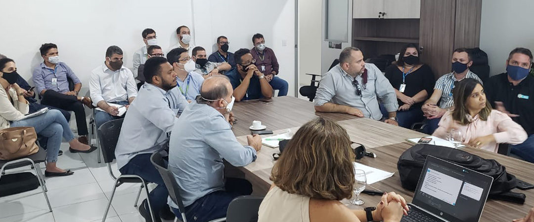 Secretária de Infraestrutura do estado de Pernambuco e membros da Compesa visitam Sisar de Juazeiro